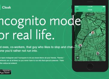匿名アプリを凌駕するエゲつないアンチソーシャルアプリ「Cloak」がアメリカで話題
